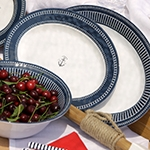 Kitchen dining table dishes