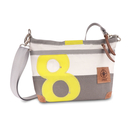 Shoulder bag handbag Deern Lütt, recycled canvas, white...