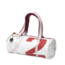 Sea Lady womens shoulder bag with leather, white / red...