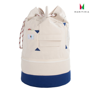 Yacht duffel bag Tortola made of extremely sturdy tarpaulin, linen fastener, height adjustable, for heavy loads