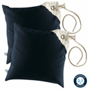 Two water-repellent cushions Navy by Marine Business,...