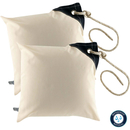 Two water-repellent cushions in ecru sand by Marine...