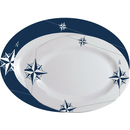 Serving plates 2 pieces oval - Northwind, Marine Business
