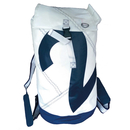 Sea Duffle duffel bag, white / navy blue made of canvas,...