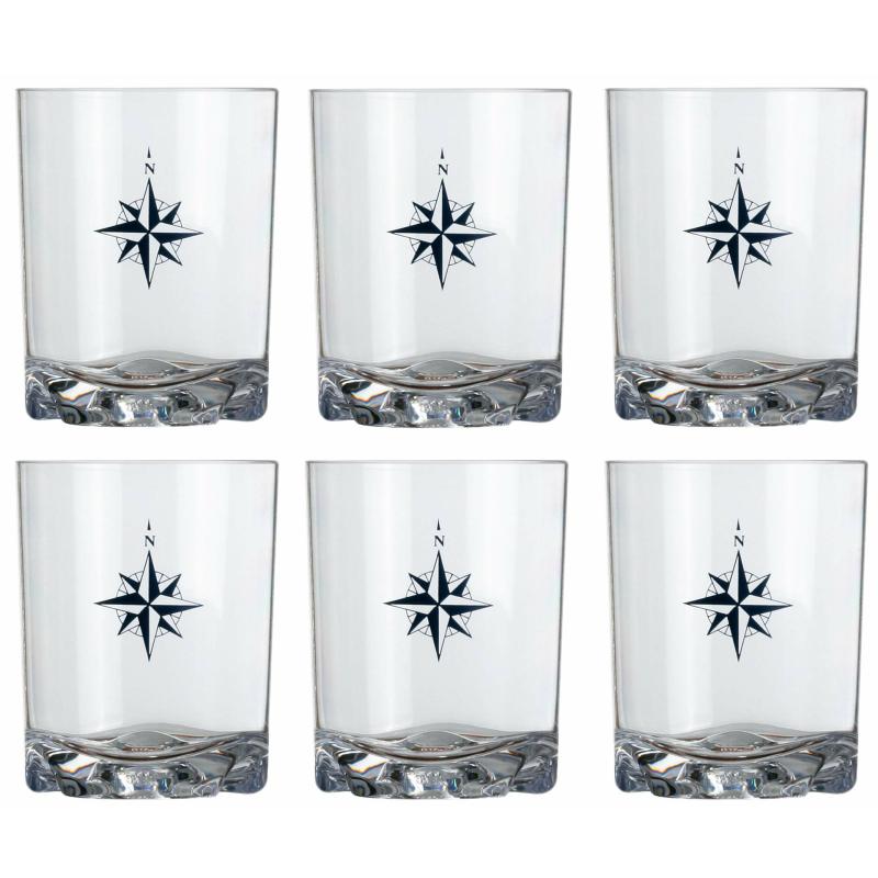 Apperitif Glas Set 6 Stück unzerbrechlich Northwind Marine Business