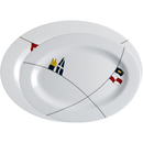 Serving plates 2 pieces oval - Regatta, Marine Business