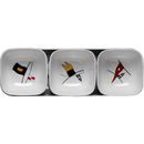 Snack bowls set 4 pieces - Regatta, Marine Business