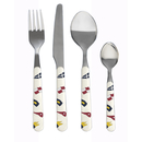 Cutlery set 24 pieces, stainless steel - Regatta, Marine...