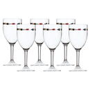 Wine glass set 6 pieces unbreakable - Regatta Marine...