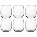 Water glass colorless set 6 pieces, unbreakable, Tritan,...