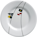 Dessertteller, 20cm, rund - Regatta, Marine Business