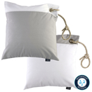 Two water-repellent cushions light gray / white from...