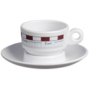 Espresso cup and saucer - Mistral, Marine Business single