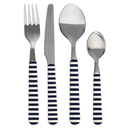 Cutlery set 24 pieces, stainless steel, marine business