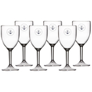Wine glass set 6 pieces, unbreakable - Sailor Soul Marine...