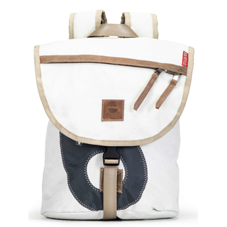 Backpack recycled canvas shore leave mini sail number gray of 360 degrees