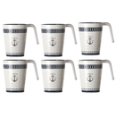 Kaffeebecher / Mug / Kaffee-Pott - Sailor Soul, 6er Set