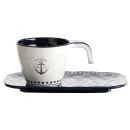Espressotasse mit Unterteller - Sailor Soul, Marine Business