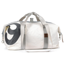 Travel bag recycled canvas cutter XL white number belts...