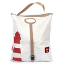 Shopping bag Beach bag Tender Lighthouse recycled canvas...