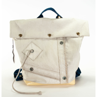 Back Bag XL No. 24, Rucksack Tasche, Klaus Störtebecker, Segeltuch, Unikat, SailArt Fashion