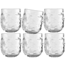 Water glass set 6 pieces, unbreakable - Harmony Moon Ice...