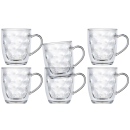 Isothermic Kaffe Mug tea glass, set 6 pieces, unbreakable...