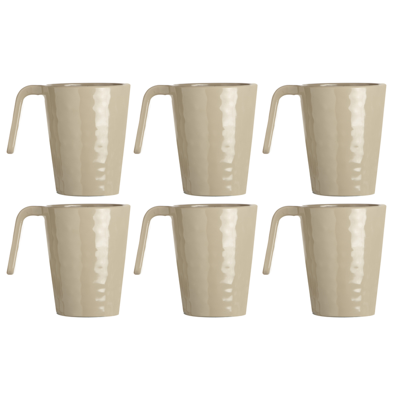 Kaffeebecher / Mug / Kaffee-Pott - Harmony Sand, Marine Business 6er Set