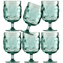 Wine glass set 6 pieces, unbreakable - Harmony Moon Acqua...