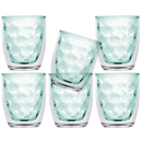 Isothermic water glass set 6 pieces, unbreakable -...