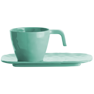 Espresso cup and saucer - Harmony Acqua, Marine Business