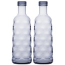 Two bottles, moon-blue, marine business tableware Harmony