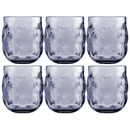Water glass set 6 pieces, unbreakable - Harmony Moon Blue...