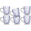 Isothermic Kaffe Mug Tea Glass, Set of 6, Unbreakable -...