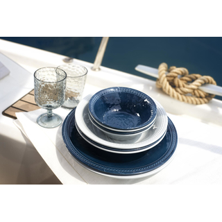 Suppenteller, tief 20,5cm - Harmony Silver, Marine Business 6er Set