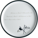 Dessert plate, 21cm - Welcome On Board, Marine Business