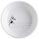 Salad bowl, 15cm - Welcome On Board, Marine Business