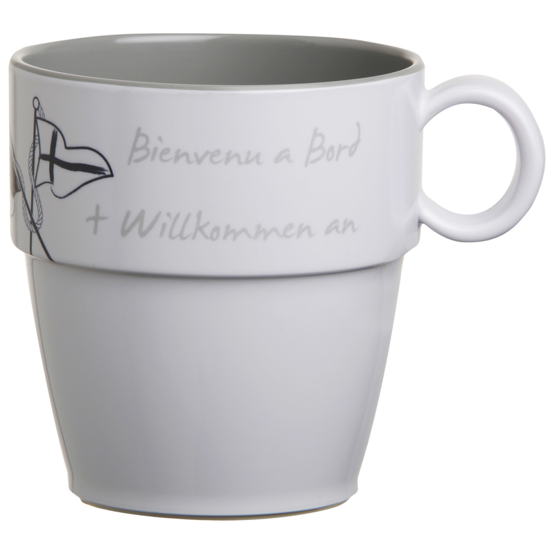 Kaffeebecher / Mug / Kaffee-Pott - Welcome On Board, Marine Business einzeln