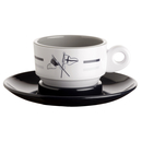 Espresso cup and saucer - Welcome On Board, Marine Business