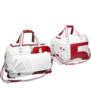 Sea Duke travel bag white / red made of canvas