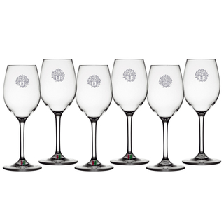 Wine glass set 6 pieces, unbreakable - Living Marine Business