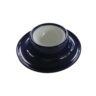 Eierbecher navy blau Melamin